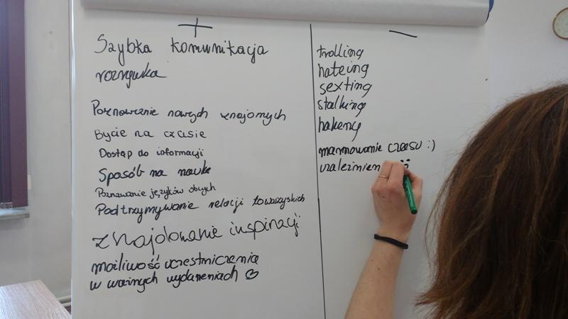 Zdjęcie z artykułu: BEZPIECZEŃSTWO W INTERNECIE – zajęcia dla młodzieży